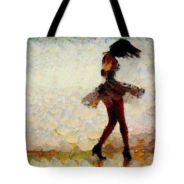 Dancing The Past Away - Ballerina Tote Bag