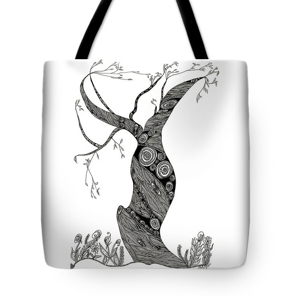 Dancing Tree Tote Bag