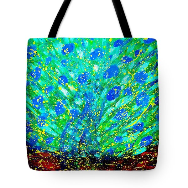Dancing Tree Tote Bag by Piety Dsilva