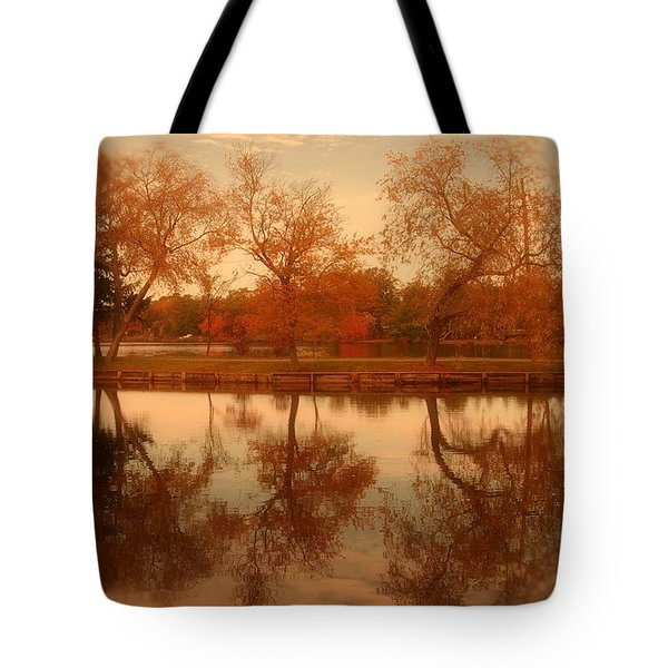 Dancing Trees - Lake Carasaljo Tote Bag