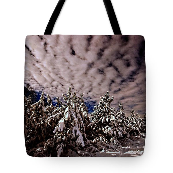 Dancing Trees  Tote Bag by John Harding