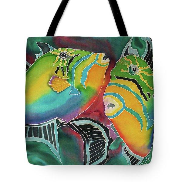 Dancing Triggers Tote Bag