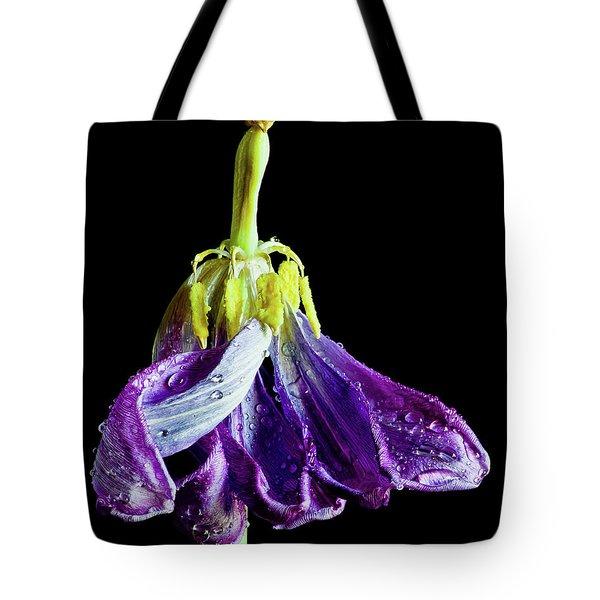 Dancing Tulip Tote Bag
