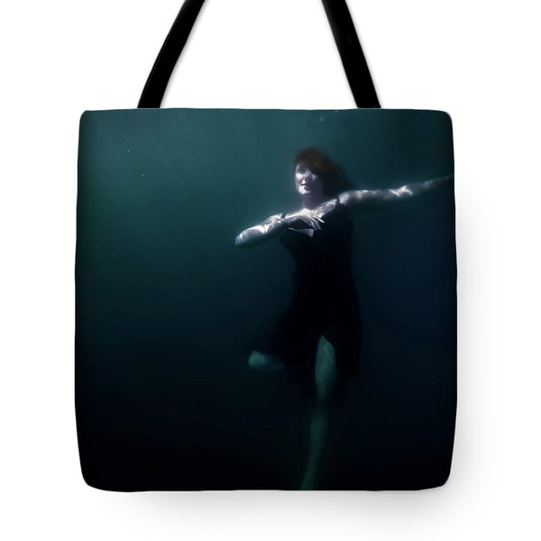 Dancing Under The Water Tote Bag