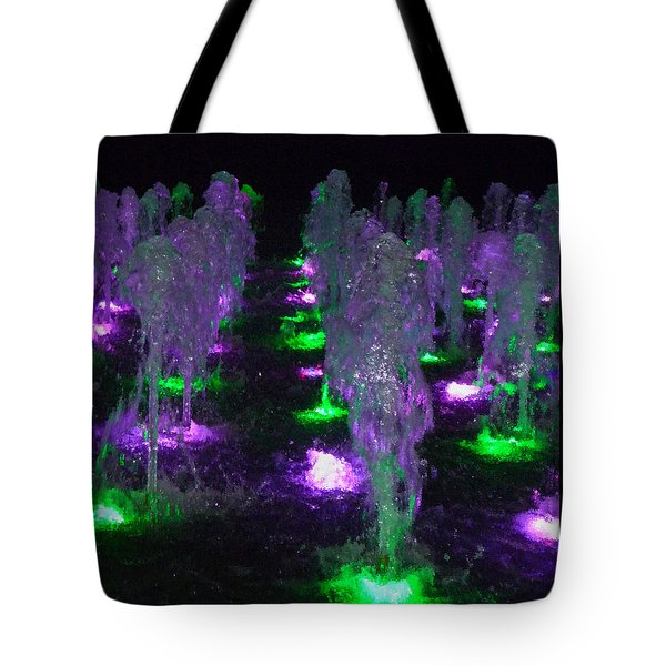 Dancing Waters No 3 Tote Bag