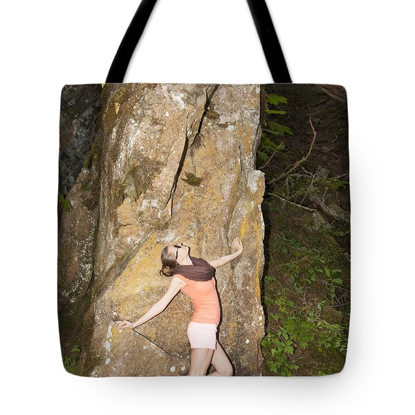 Dancing With The Rock Tote Bag