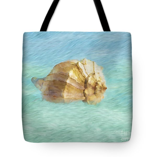 Tote Bag featuring the photograph Dancing With The Sea by Betty LaRue