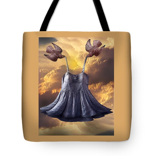 Dancing With The Stars Tote Bag by Larry Butterworth