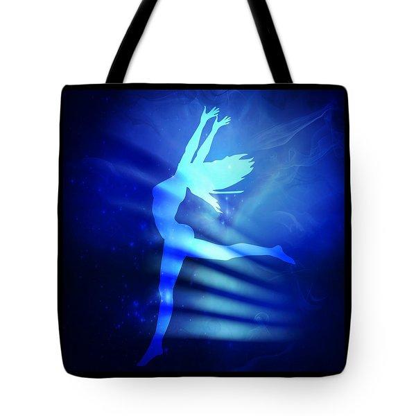 Dancing Woman Tote Bag by Serena King