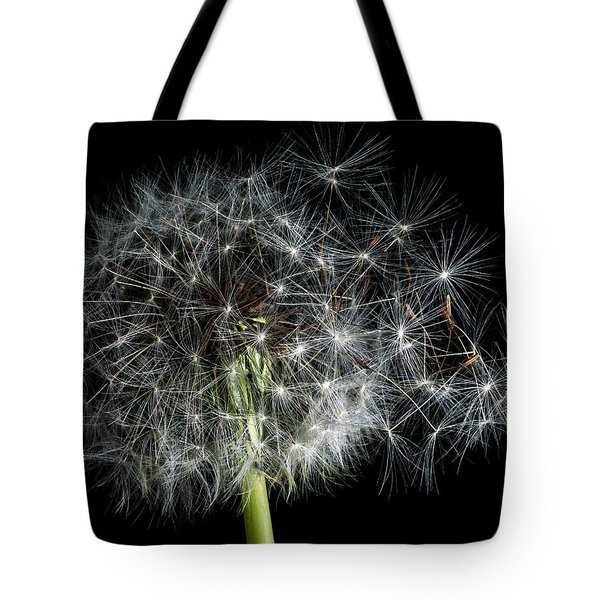 Tote Bag featuring the photograph Dandelion 2 by James Sage
