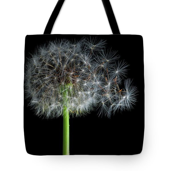 Tote Bag featuring the photograph Dandelion 3 by James Sage