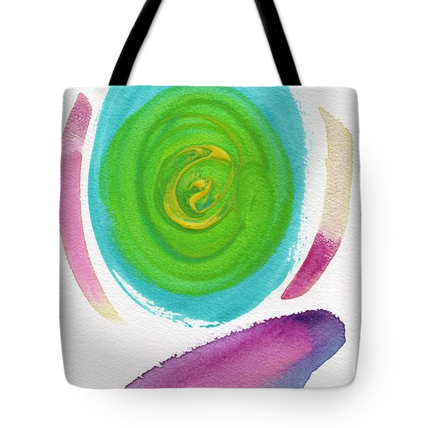 Tote Bag featuring the painting Dandelion by Bee-Bee Deigner