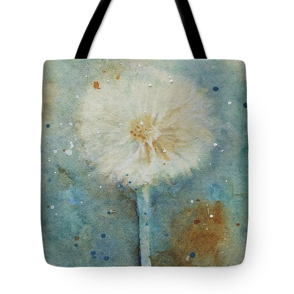 Dandelion Clock 2 Tote Bag