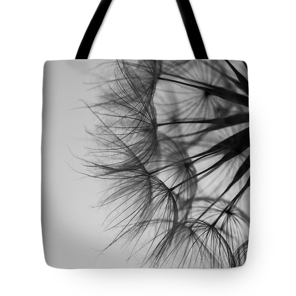 Tote Bag featuring the photograph Dandelion Close Up by Jan Bickerton