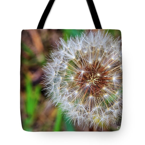 Dandelion Explosion Tote Bag