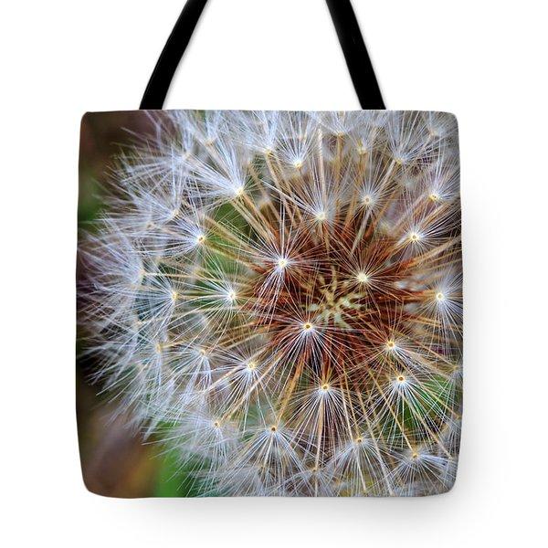 Dandelion Explosion II Tote Bag