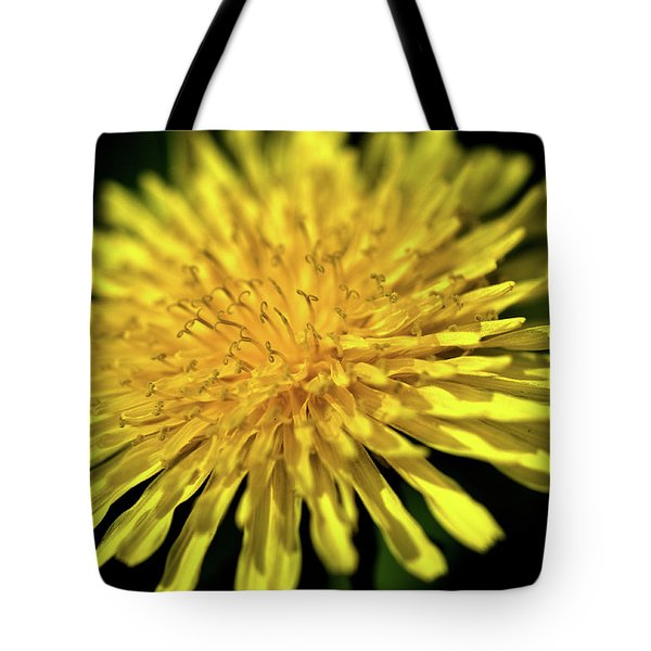 Dandelion Flower Tote Bag