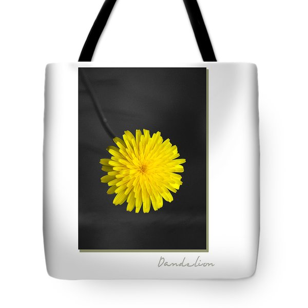 Dandelion Tote Bag by Holly Kempe
