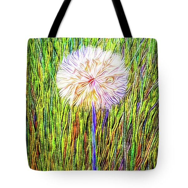 Dandelion In Glory Tote Bag