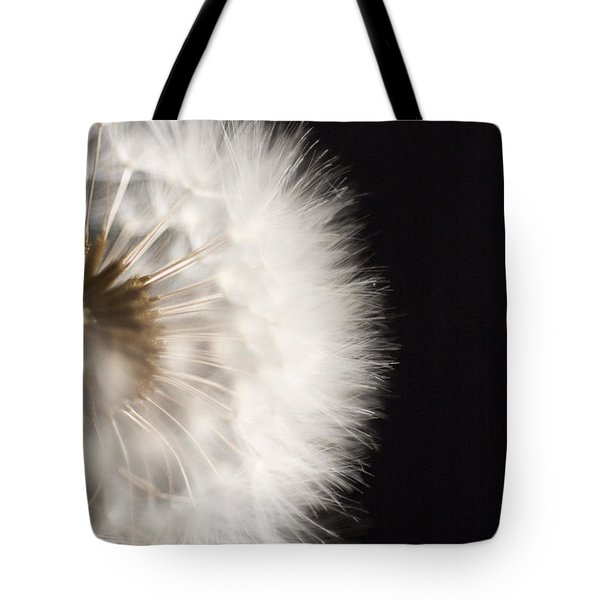 Dandelion In Macro 4 Tote Bag