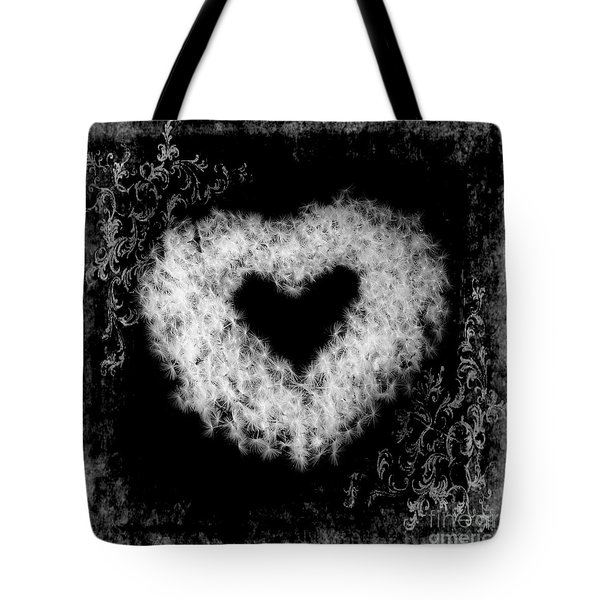 Dandelion Love Tote Bag by Tamyra Ayles