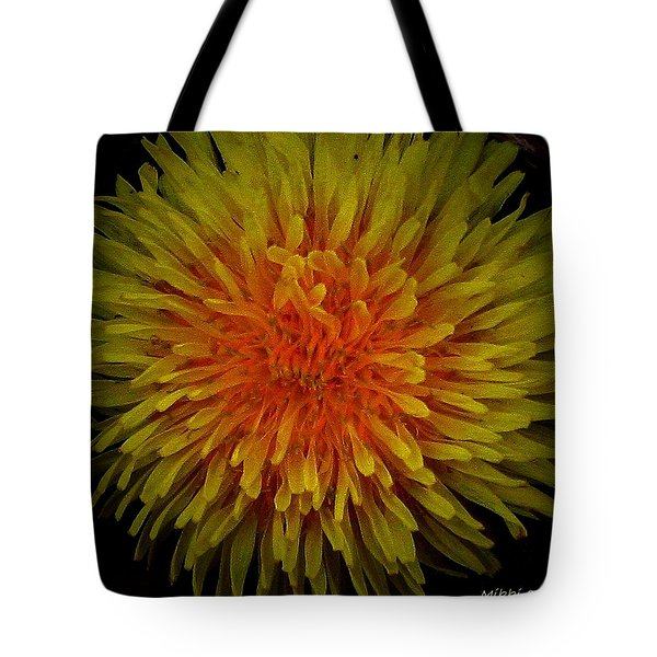 Dandelion Tote Bag by Mikki Cucuzzo