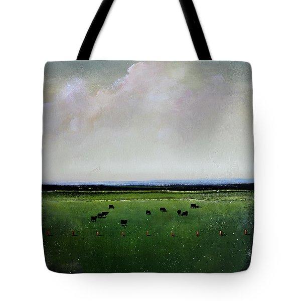 Dandelion Pastures Tote Bag by Toni Grote