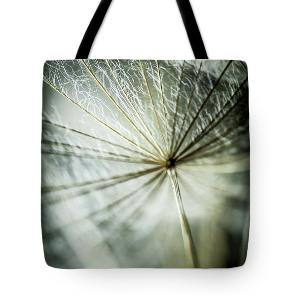 Dandelion Petals Tote Bag by Iris Greenwell