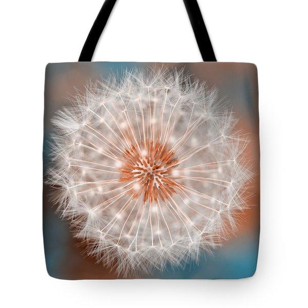 Dandelion Plasma Tote Bag