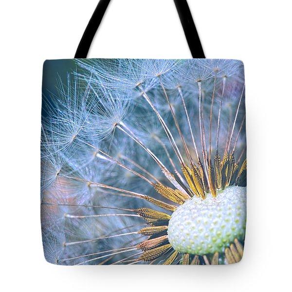 Dandelion Plumes Tote Bag