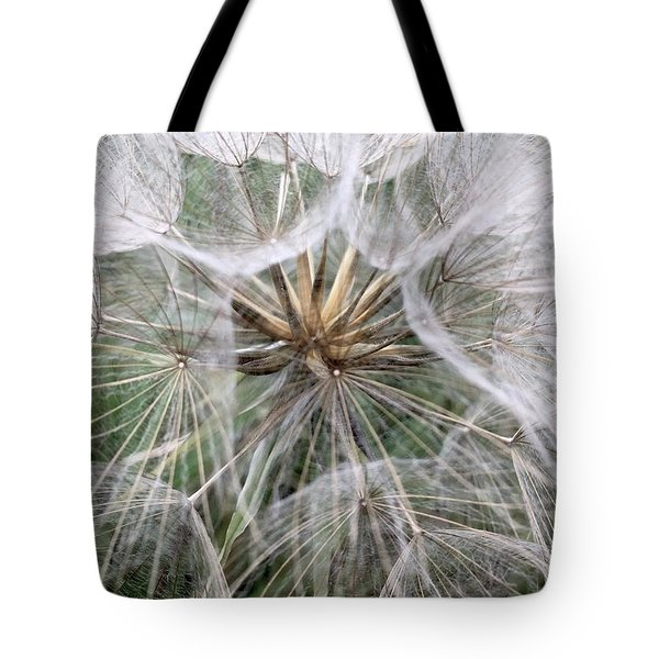 Dandelion Seed Head  Tote Bag