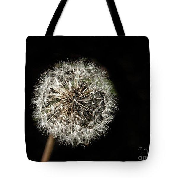 Dandelion Seeds Tote Bag by Robert Bales