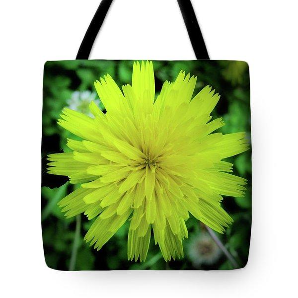 Dandelion Symmetry Tote Bag