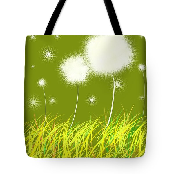 Dandelions Are Free Tote Bag by Oiyee At Oystudio