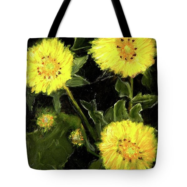 Dandelions By Mary Krupa  Tote Bag