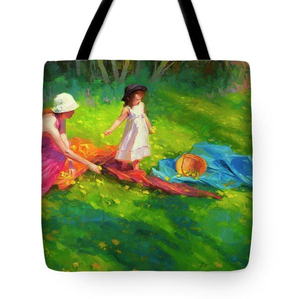Dandelions Tote Bag