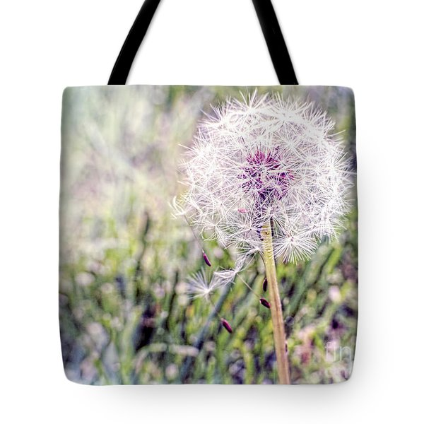 Dandilion Wishes Tote Bag