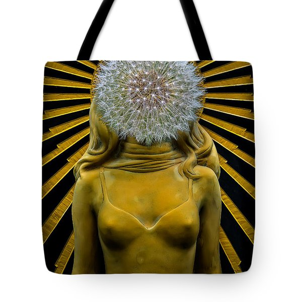 Tote Bag featuring the photograph Dandy Girl by Harry Spitz
