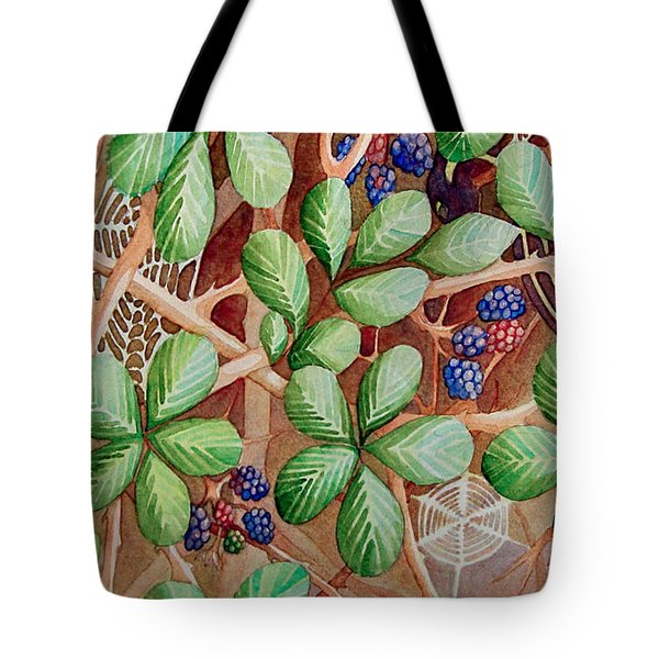 Danger In The Bushes Tote Bag