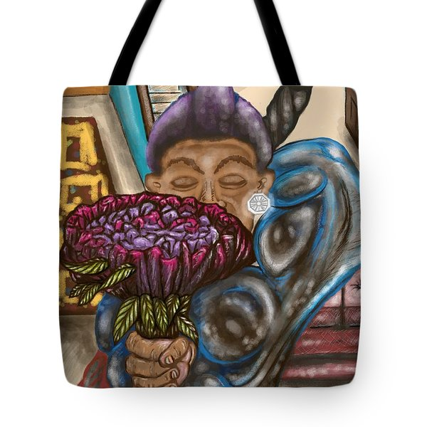 Dangerous Flowers Tote Bag