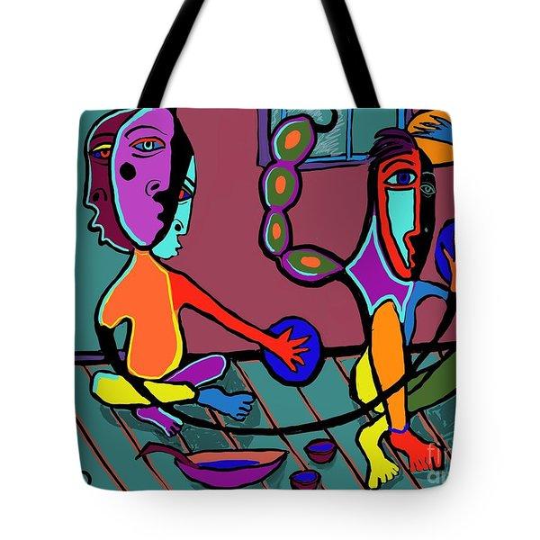 Dangerous Friends Tote Bag by Hans Magden