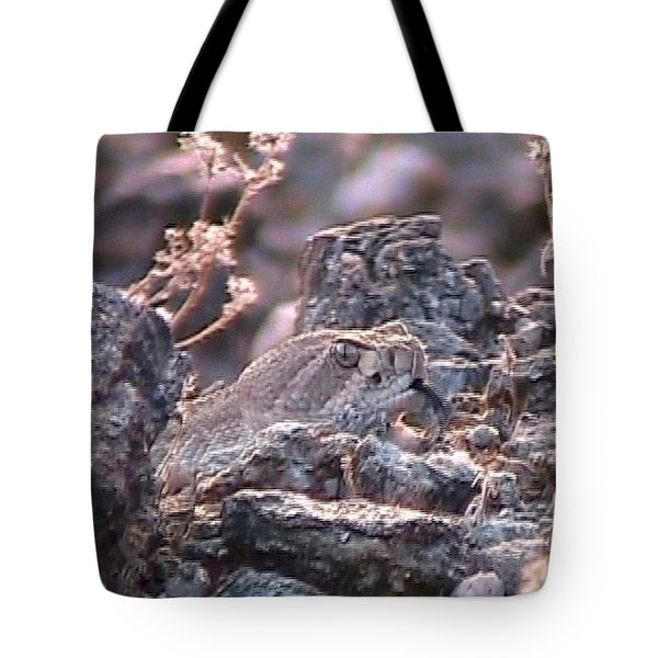 Dangerous Peekaboo  Tote Bag