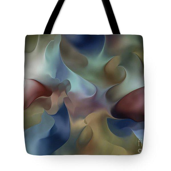 Dangling Conversation Tote Bag