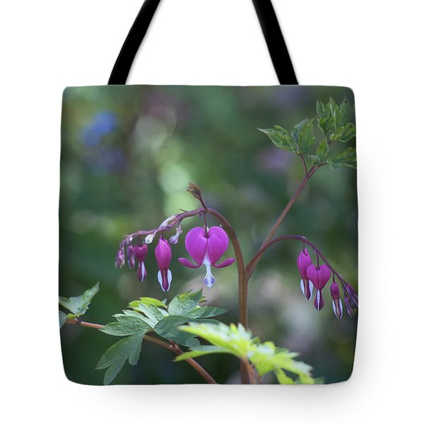 Dangling Hearts Tote Bag
