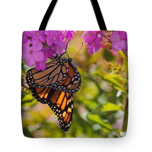 Dangling Monarch   Tote Bag