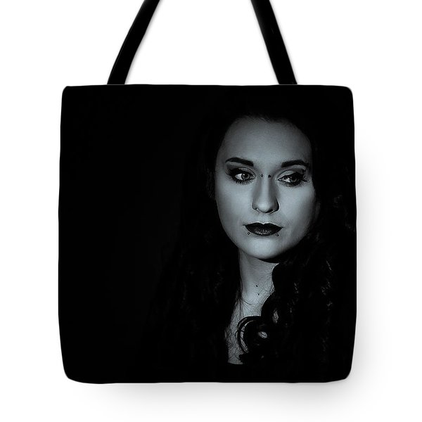 Tote Bag featuring the photograph Dani by Ian Thompson