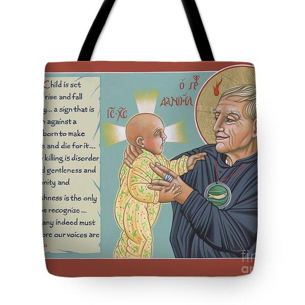 Holy Prophet Daniel Berrigan 291  Tote Bag