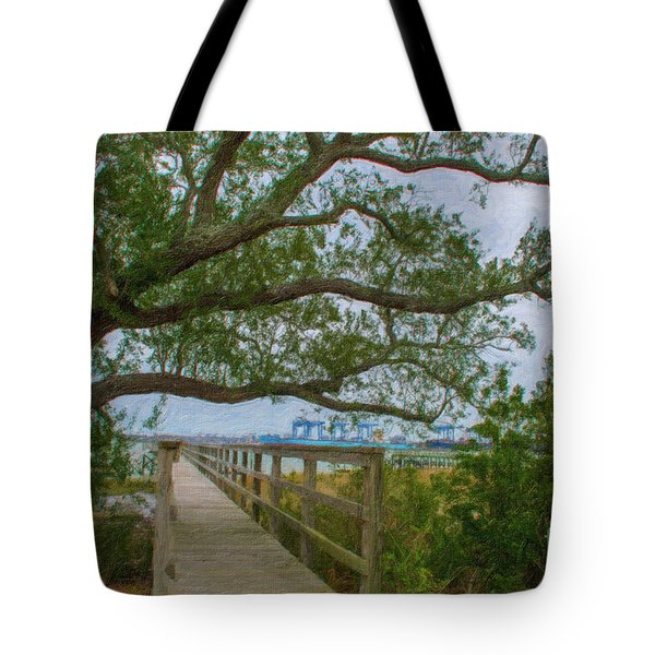 Daniel Island Time Tote Bag