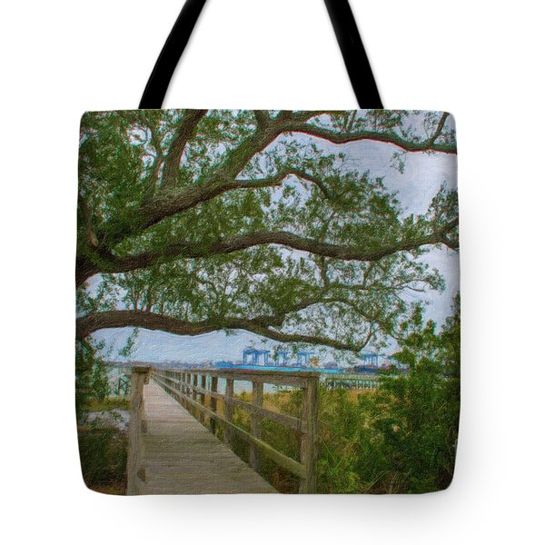 Daniel Island Time Tote Bag