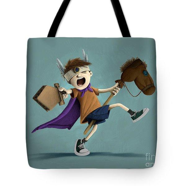 Daniel The Brave Tote Bag